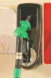 Fuelling nozzle Royalty Free Stock Image