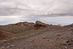 Fuencaliente - Los Canarios Volcanic Landscape on the Island La Stock Photography