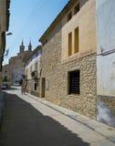 FUENDETOS, Goya ` s出生地 库存照片