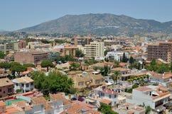 Fuengirola πόλη στοκ εικόνα με δικαίωμα ελεύθερης χρήσης