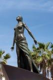FUENGIROLA, ANDALUCIA/SPAIN - MAJ 24: Dama Denna statua wewnątrz Fotografia Royalty Free