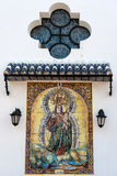 FUENGIROLA, ANDALUCIA/SPAIN - MAY 24 : Religious Painting outsid Royalty Free Stock Photography