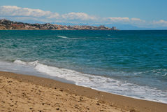 Fuengirola beach Royalty Free Stock Image