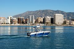 Fuengirola beach and sea. Stock Photo