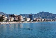 Fuengirola coastline. Royalty Free Stock Images