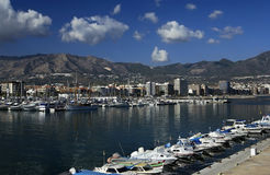 Fuengirola - Costa Del Sol - Spain. The yacht marina at Fuengirola on the Costa Del Sol in Southern Spain stock photo