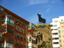 Apartments in Fuengirola on the Costa del Sol in Spain Royalty Free Stock Photography