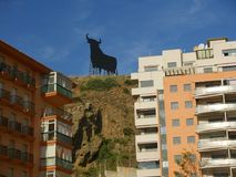 Apartments in Fuengirola on the Costa del Sol in Spain Stock Photos