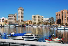 Fuengirola harbour. Royalty Free Stock Photos