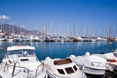 Fuengirola port Royalty Free Stock Image