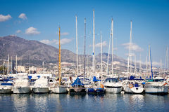 Fuengirola port Royalty Free Stock Photography
