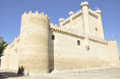 Fuensaldaña Castle, Castile and Leon, Spain Royalty Free Stock Photography