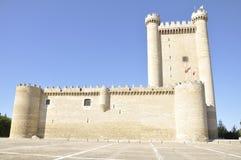 Fuensaldaña Castle, Castile and Leon, Spain Stock Photo