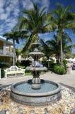 Fuente al aire libre en hotel Imagen de archivo