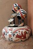 Fuente al sudoeste de la cerámica fotos de archivo