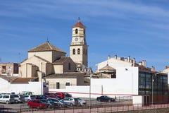 Fuente Alamo, Murcia, Spain. Church in historic town Fuente Alamo de Murcia, region of Murcia, Spain Stock Photos