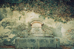 Fuente antigua Imagenes de archivo