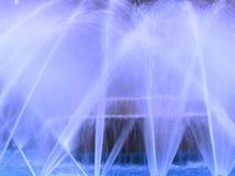 Fuente azul Foto de archivo