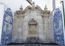 Fuente barroca de Vinhais de Cano Imagenes de archivo