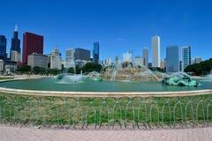 Fuente Chicago de Buckingham Fotografía de archivo libre de regalías