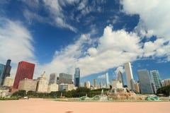 Fuente Chicago de Buckingham Fotografía de archivo