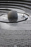 Fuente circular, puerto querido Foto de archivo libre de regalías