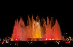 Fuente colorida Imagen de archivo