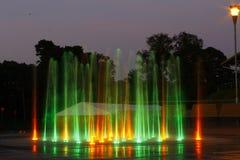 Fuente colorida Foto de archivo libre de regalías
