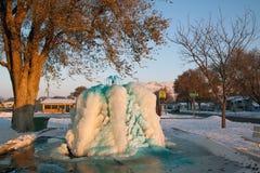 Fuente congelada Imagenes de archivo