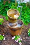 Fuente de agua foto de archivo