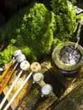 Fuente de agua de la purificación Fotografía de archivo