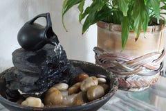Fuente de agua del zen Foto de archivo