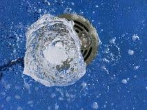Fuente de agua desde arriba Fotografía de archivo libre de regalías