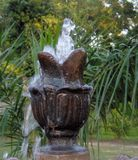 Fuente de agua de la costa Fotografía de archivo