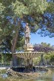Fuente de agua de San Anton Garden Malta Imagen de archivo