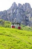 Fuente De cable car. Cable car in Fuente De, Cantabria, Spain stock photos
