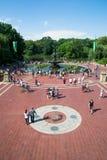 Fuente de Central Park Fotos de archivo