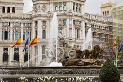 Fuente de Cibeles Stock Photography