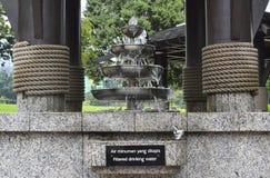Fuente de consumición en Kuala Lumpur Imagen de archivo