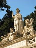 Fuente 2 de Dea di Roma Fotografía de archivo libre de regalías