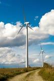 Fuente de energía alternativa y verde Imagen de archivo