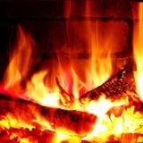 Fuente de fuego Fotografía de archivo