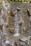 Fuente de la cascada Fotografía de archivo