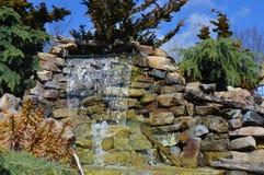 Fuente de la cascada Foto de archivo
