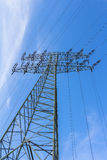 Fuente de la corriente eléctrica Fotos de archivo libres de regalías
