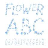 Fuente de la flor Imagen de archivo libre de regalías
