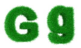Fuente de la hierba stock de ilustración