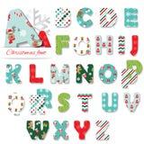 Fuente de la materia textil de la Navidad Fotografía de archivo libre de regalías