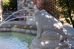 fuente de la Piedra-rana Imagen de archivo libre de regalías