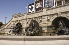 Fuente de las esculturas de bronce Washington Imagen de archivo